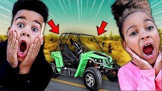 Special New ATV Surprise Car | FamousTubeKIDS