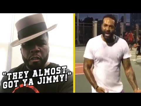 50 Cent Reacts To Latin Kings Running Up On Jim Jones!