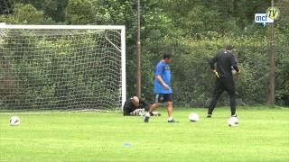 Málaga Club de Fútbol Televisión. Sunday, 07/08/11. Willy Caballero interview