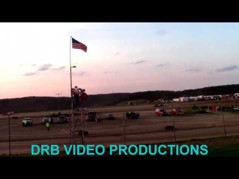 Marion Center Speedway 8/5/17 Super Late & Steel Block Heat 1 OF 4