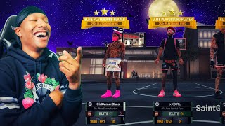 This is what happens when TWO Girl Gamers pull up on a Stretch Big Demigod on NBA 2K19! BEST BUILD!