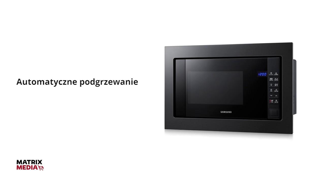 Samsung Fg87sub Kuchenka Mikrofalowa Do Zabudowy Matrix Media