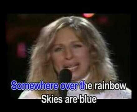 Over the rainbow - Barbra Streisand (Karaoke)