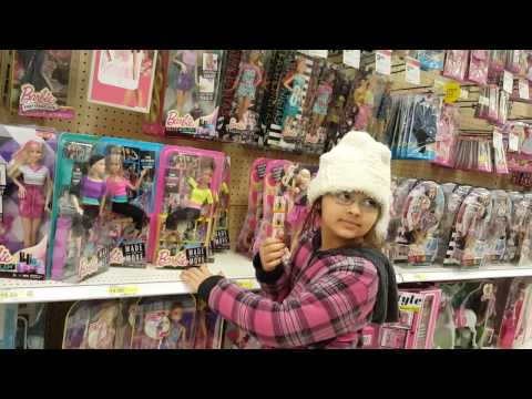 Toy Shopping - Which Barbie to buy in Target today with Jellybean Joy and Sissy!