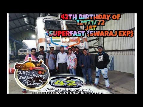 #42THBIRTHDAYOF12471/72 #JAMMU-TAWISUPERFAST {SWARAJ SF EXP} 42th BIRTHDAY OF SWARAJ SF EXPRESS