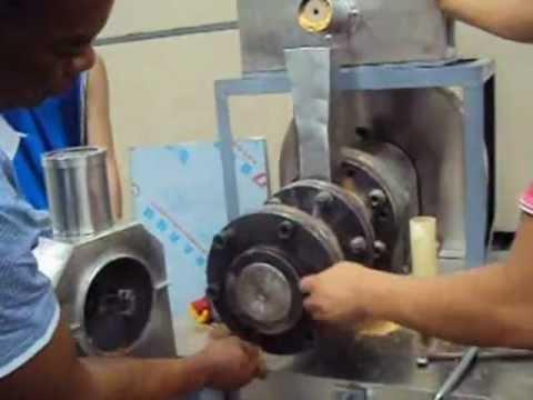 Fish food extruder operate video nigeria