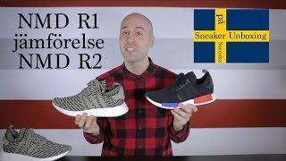 3555f9a74b97 Sneaker Unboxing på Svenska (Swedish) - NMD R2 och R1 jämförelse - Mr Stoltz