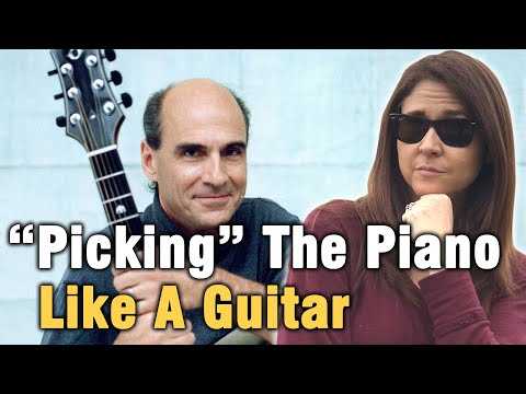 Fingerstyle Guitar For Piano Tutorial   Carolina In My Mind