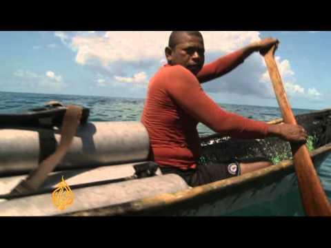 Nicaragua lobster divers risking death