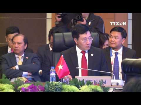 AMM 50 : DIALOGUE PARTNERS AFFIRM ASEAN'S ROLE, COOPERATION