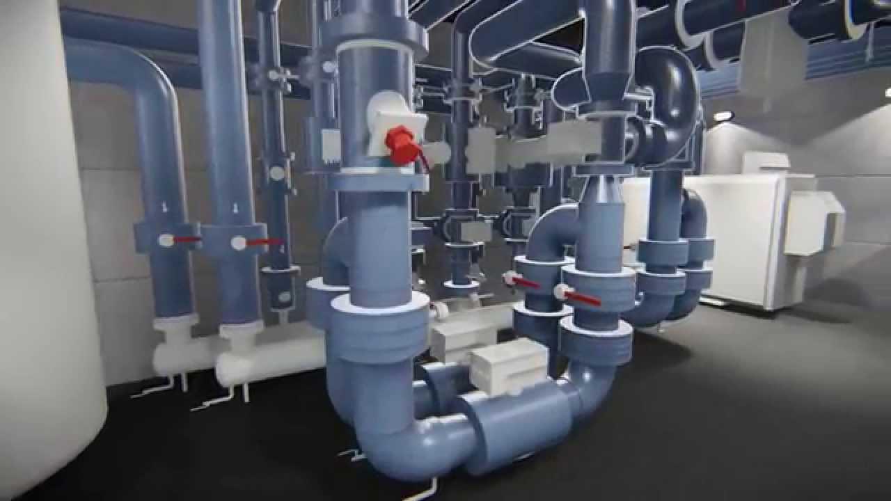 Idessin Animation Lumion 3d Centrale Technique Avec