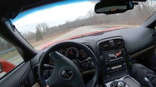 2012 Chevrolet Corvette Z16 Grand Sport Manual Coupe - POV Test Drive (Binaural Audio)