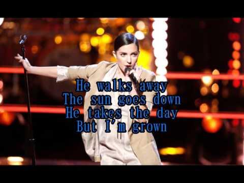 Lilli Passero - Tears Dry On Their Own (The Voice Performance) - Lyrics