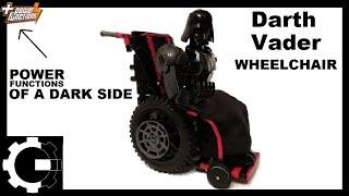 LEGO Technic Darth VADER's WheelChair [5-minute crafts]