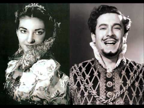 Rigoletto [part 2 of 3] - Callas, di Stefano (LIVE 1952 recording)
