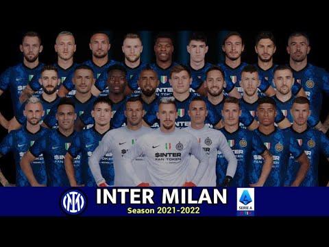 Download Inter Milan Squad 2021/2022 With Edin Dzeko, Dumfries & Calhanoglu   SERIE A SEASON 2021-22