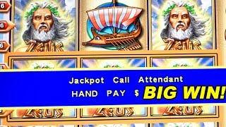 $54 BETS! CLASSIC ZEUS SLOT MACHINE ★ HIGH LIMIT ➜ BONUSES & JACKPOTS