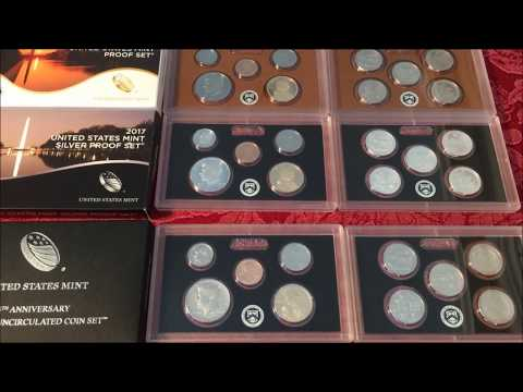 HOW TO GET AN ENTIRE YEAR OF COIN PRODUCTION IN MS AND PROOF STATE-COIN COLLECTING FOR BEGINNERS P11
