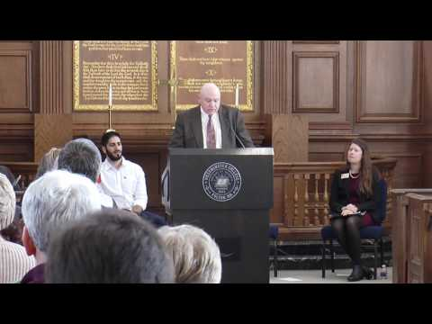 2017 Annual Harrod-C.S. Lewis Legacy Lecture- Reverend Dr. Charles Kimball