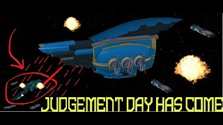 Roblox:Galaxy-Jugement Ship Review!