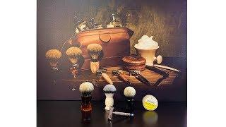 Розпакування! Гоління! Такого ви ще не бачили!!! Shavemac, Yaqi Brush, Elephant Stock, Gillette 1956
