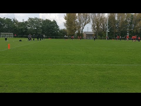 U12s BAFA semi finals - Chorley Buccaneers v London Blitz