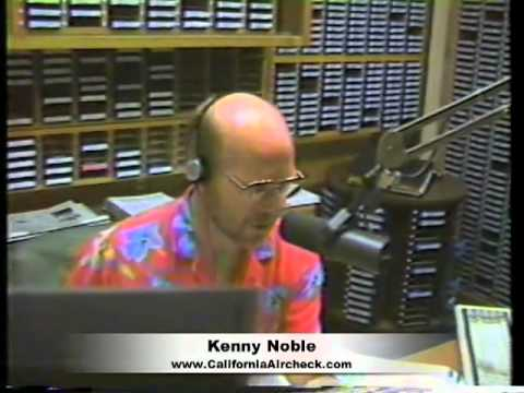 KENNY NOBLE KYXY 96.5 FM RADIO SAN DIEGO RADIO VIDEO AIRCHECK