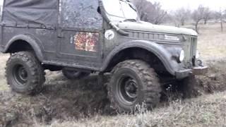 Подготовка и испытание трассы для гонок в Лисичанске по бездорожью