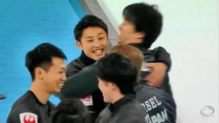 パシフィックアジアカーリング選手権2018男子優勝コンサドーレカーリングチーム