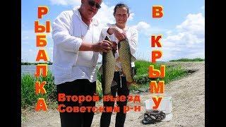 Рыбалка в Крыму Советский Амуры атакуют