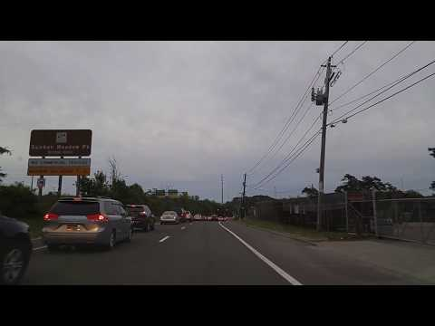 Driving From Huntington Station To Commack In Suffolk,New York