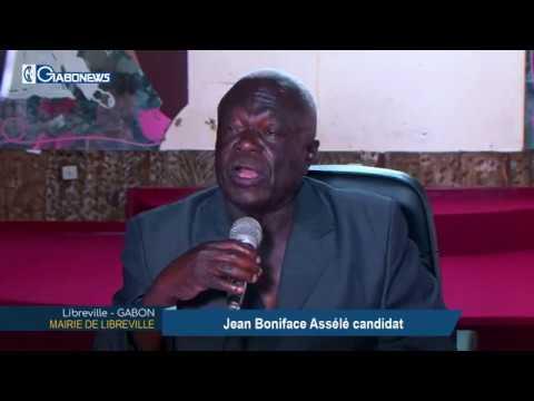 GABON / MAIRIE DE LIBREVILLE : Jean Boniface ASSELE candidat