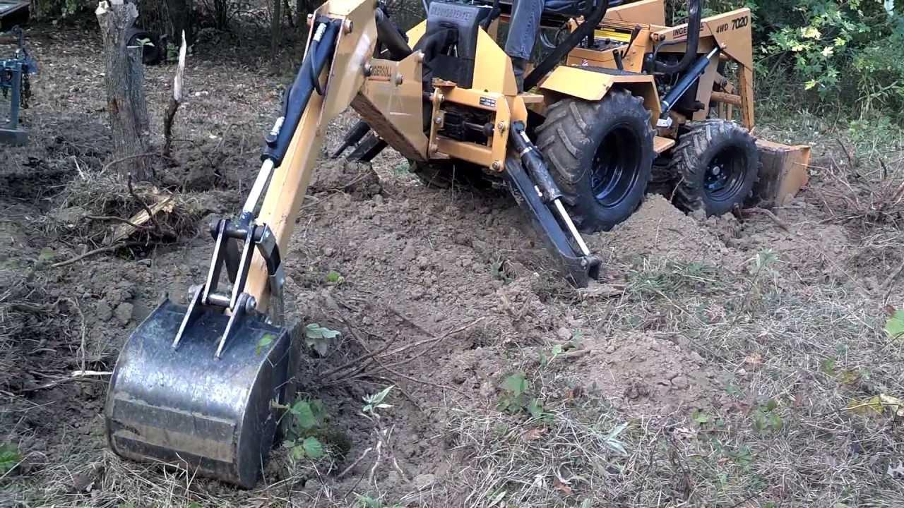 3 Point Tractor Broke : Ingersoll lbh loader backhoe tractor of