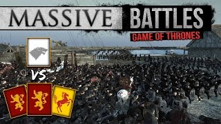 Game of Thrones - House Lannister Sieges the North! (Massive Battles)