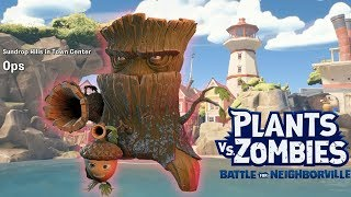 Play Ops Defending the tower with OAK - Plants vs. Zombies Battle for Neighborville