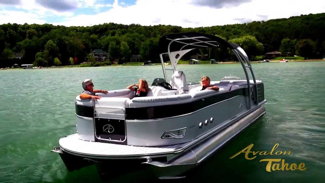 2014 Pontoon Boats For Sale Video Experience Avalon Model