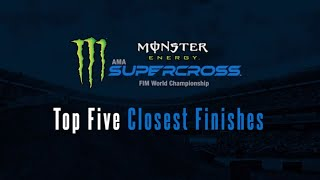 Top 5 closest Monster Energy Supercross finishes in history