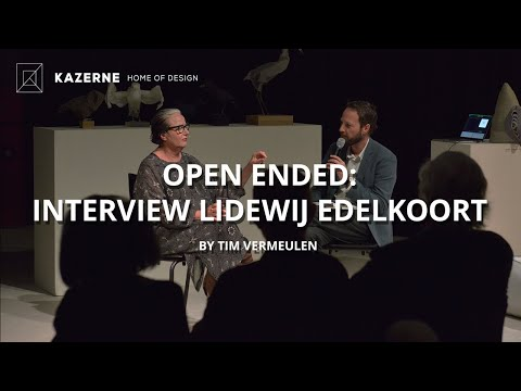 Kazerne - Home of Design | Exhibition Open Ended - Lidewij Edelkoort: Lecture (20 JUNE 2015)