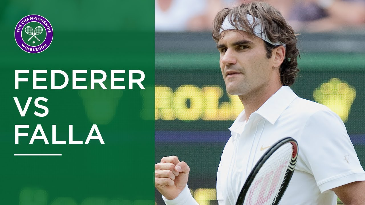 Roger Federer vs Alejandro Falla - Best Points