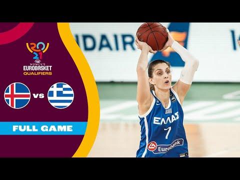 Iceland v Greece | Full Game - FIBA Women's EuroBasket Qualifiers 2021