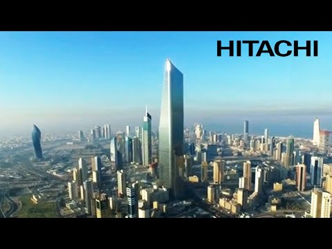 Installation of Hitachi Elevators & Escalators in Al Hamra tower - Kuwait Future - Hitachi