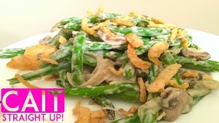 Easy Green Bean Casserole Recipe From Scratch   Cait Straight Up