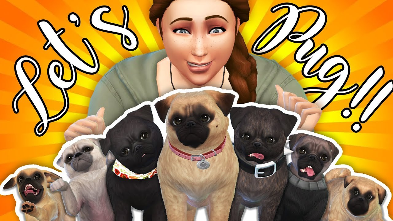 7 Pug Let S Play W Facecam Sims 4 Cats Dogs Penappleyt Youtube