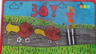Onthulling winnende ontwerpen verkeersbordenactie door basisschoolleerlingen in Oldebroek