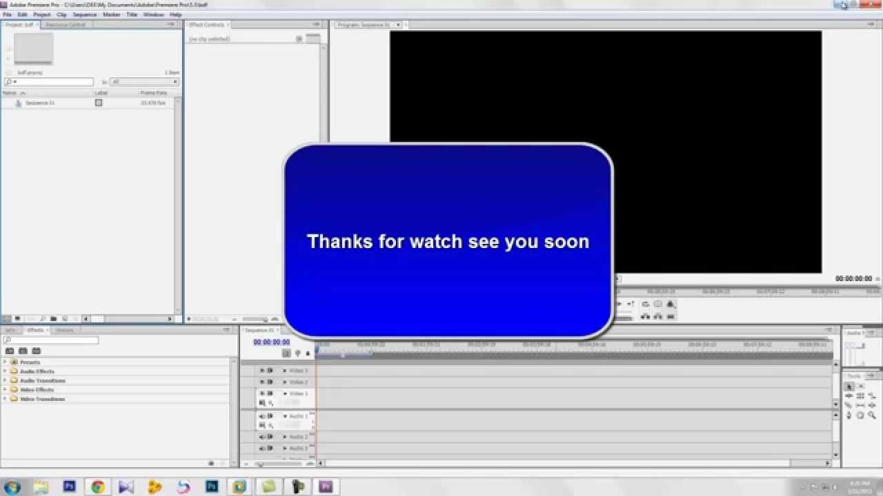 fix no sequence preview preset issue on adobe premiere pro cs4 5 6 youtube