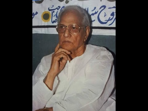 Mazrooh Sultanpuri in conversation with Ahmad Wasi