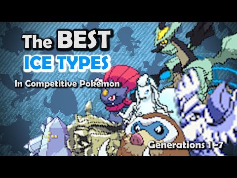 How GOOD were Ice Types ACTUALLY? - Competitive History of Ice Type Pokemon ft. Thunderblunder777
