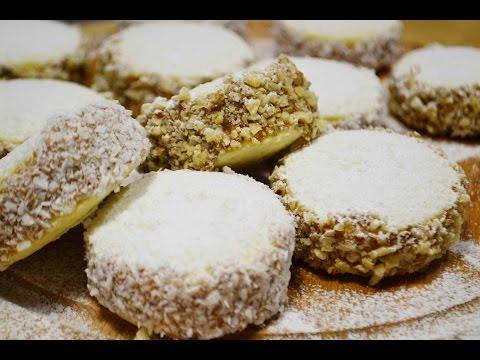 видео: ПЕЧЕНЬЕ (Пирожные) АЛЬФАХОРЕС |  Нереально вкусное! | alfajores |  cookies/ sandwich cookies