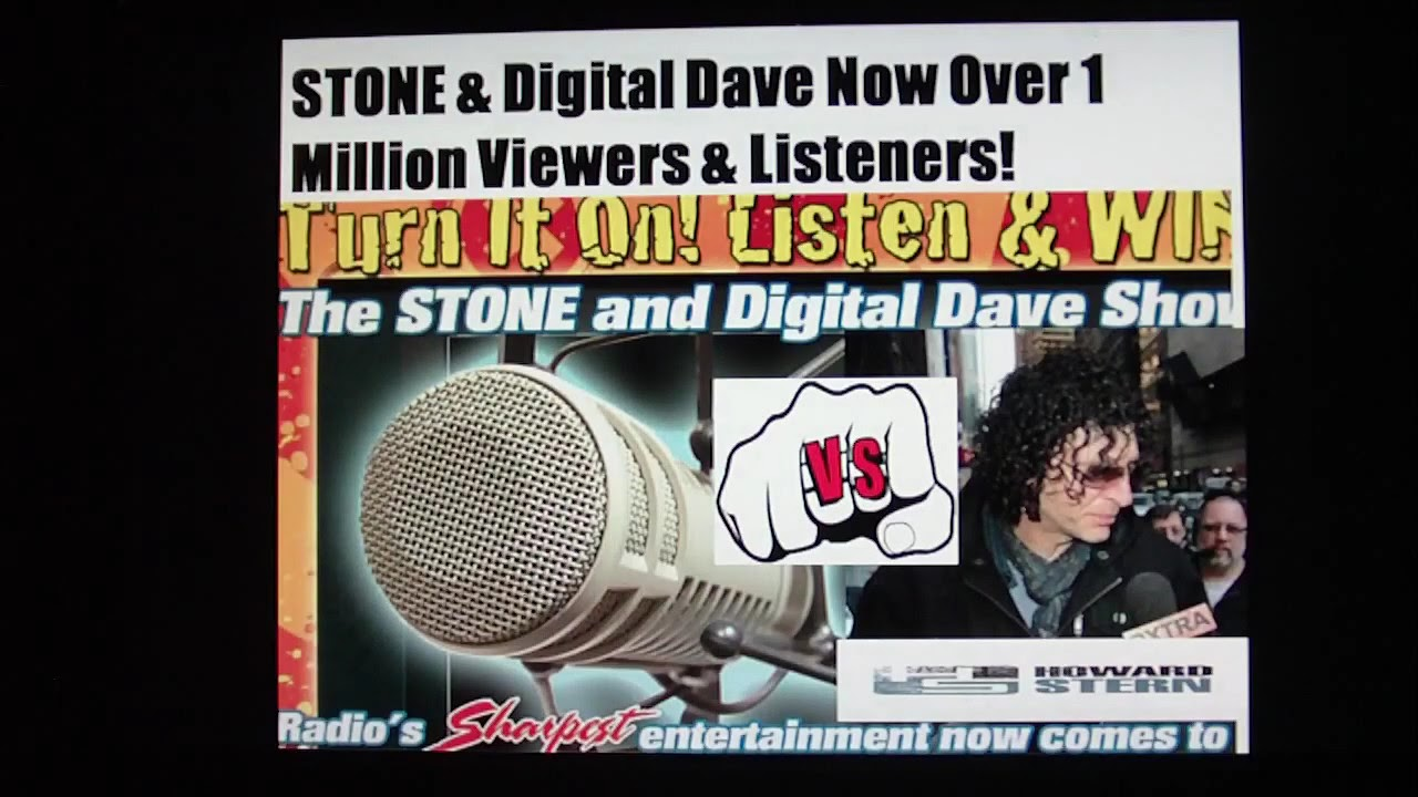 Howard Stern Radio Enemies Who DESTROYED HIM Part 2..Stone & Digital Dave -  YouTube