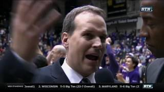Michigan at Northwestern - Men's Basketball Highlights